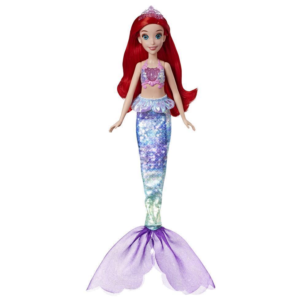 Disney Princess Shimmering Song Ariel, muñeca que canta