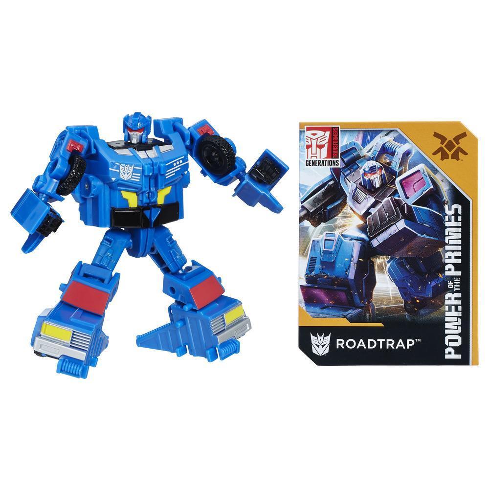 Transformers: Generations -  Poder de los Primes - clase leyendas - Roadtrap