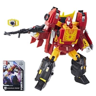 Transformers: Generations -  Poder de los Primes - clase líder - Rodimus Prime Evolución