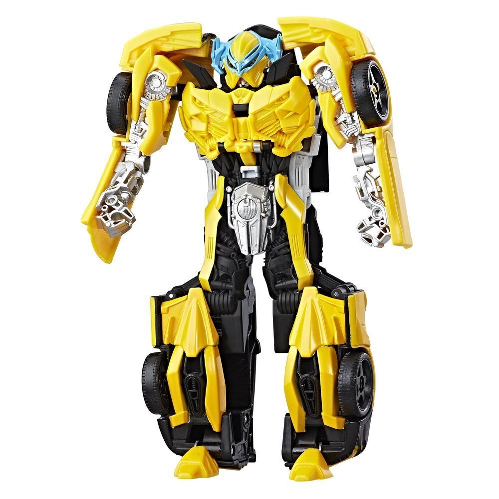 Transformers: The Last Knight -- Turbo Changer Armadura de caballero Bumblebee