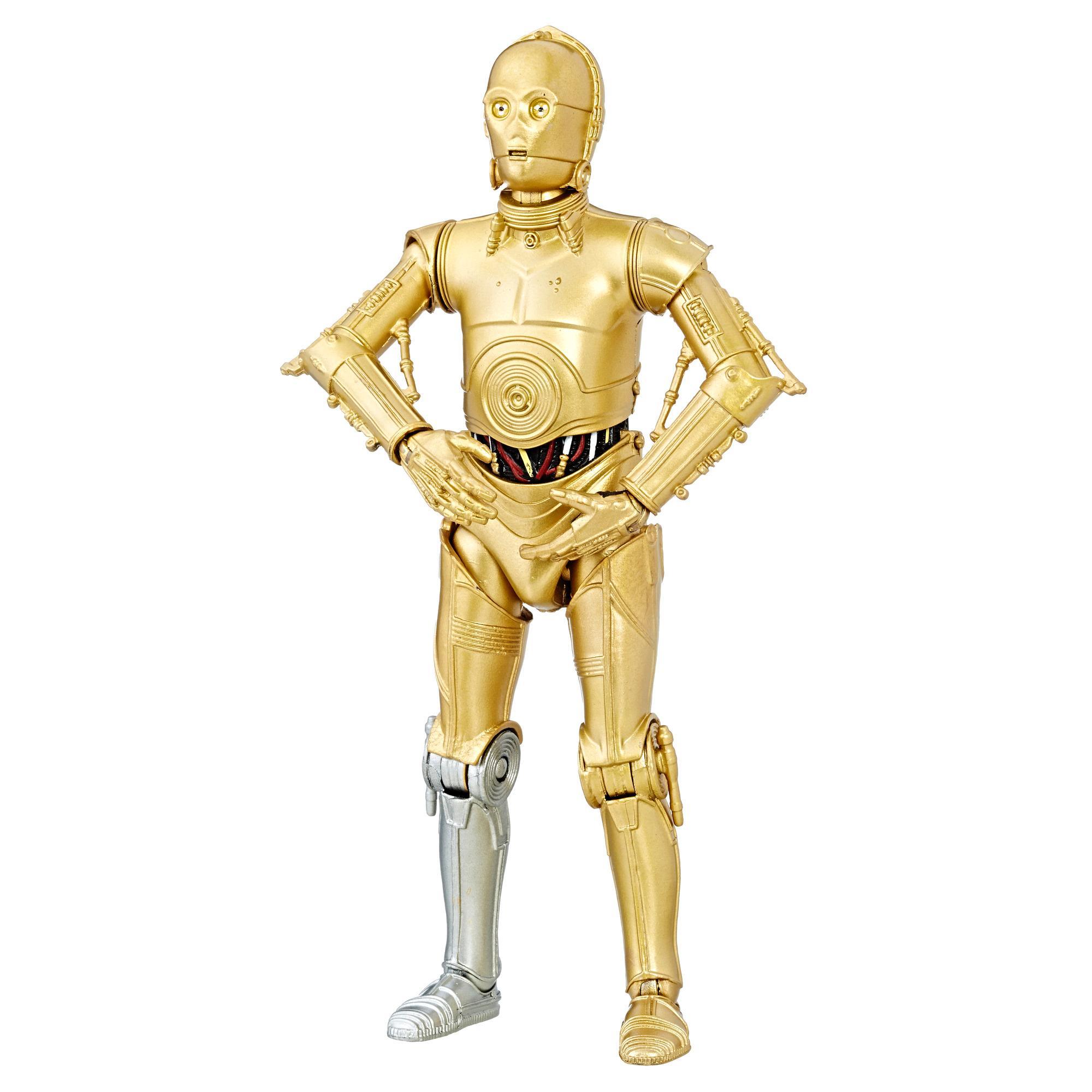 Star Wars The Black Series - Figura C-3PO del 40.º aniversario