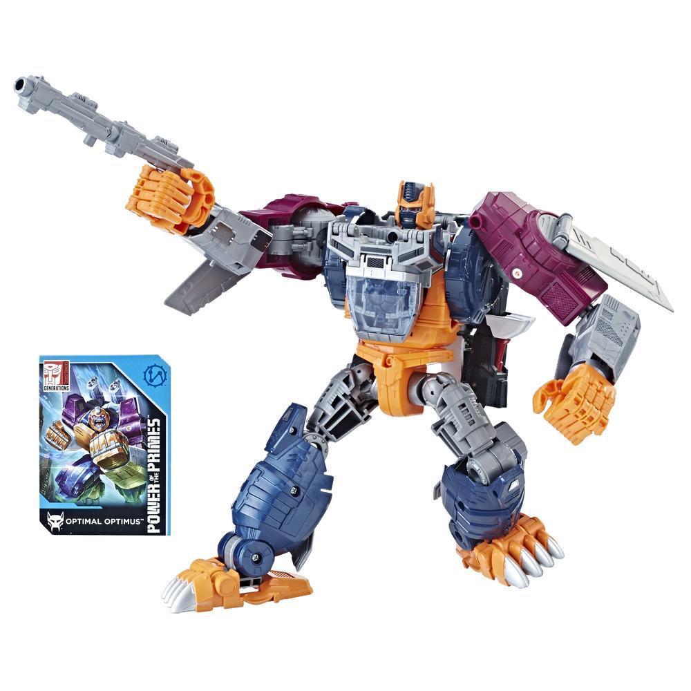 Transformers: Generations -  Poder de los Primes Evolución - Optimal Optimus