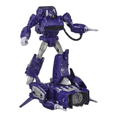 Transformers Generations War for Cybertron: Siege - Figura de acción WFC-S14 Shockwave clase líder Product