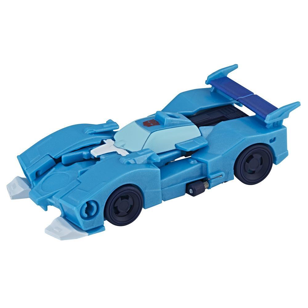 Transformers Cyberverse Blurr Cambiador de 1 paso