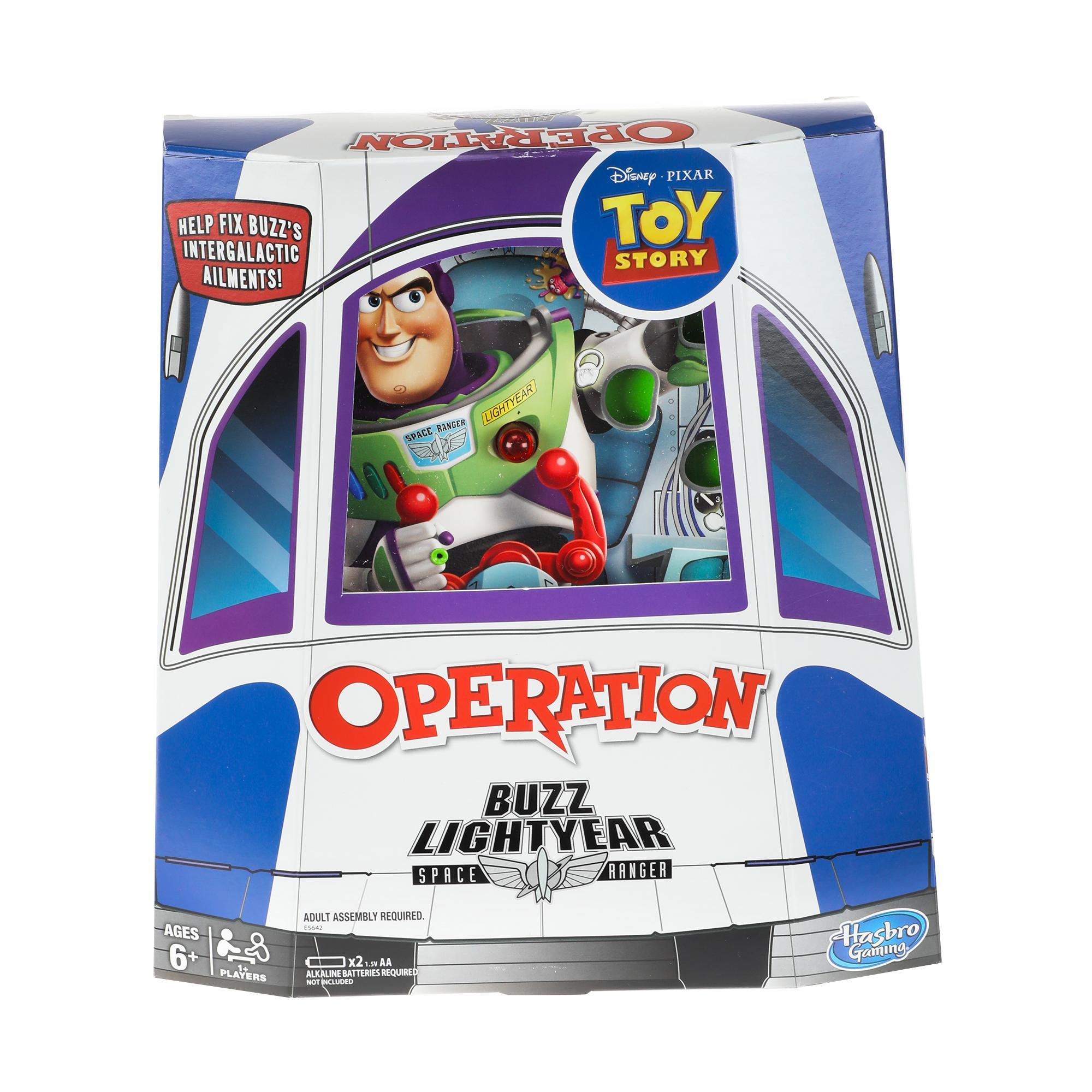 Operation: Disney/Pixar Toy Story Buzz Lightyear - Juego de mesa recomendado para niños de 6 años en adelante