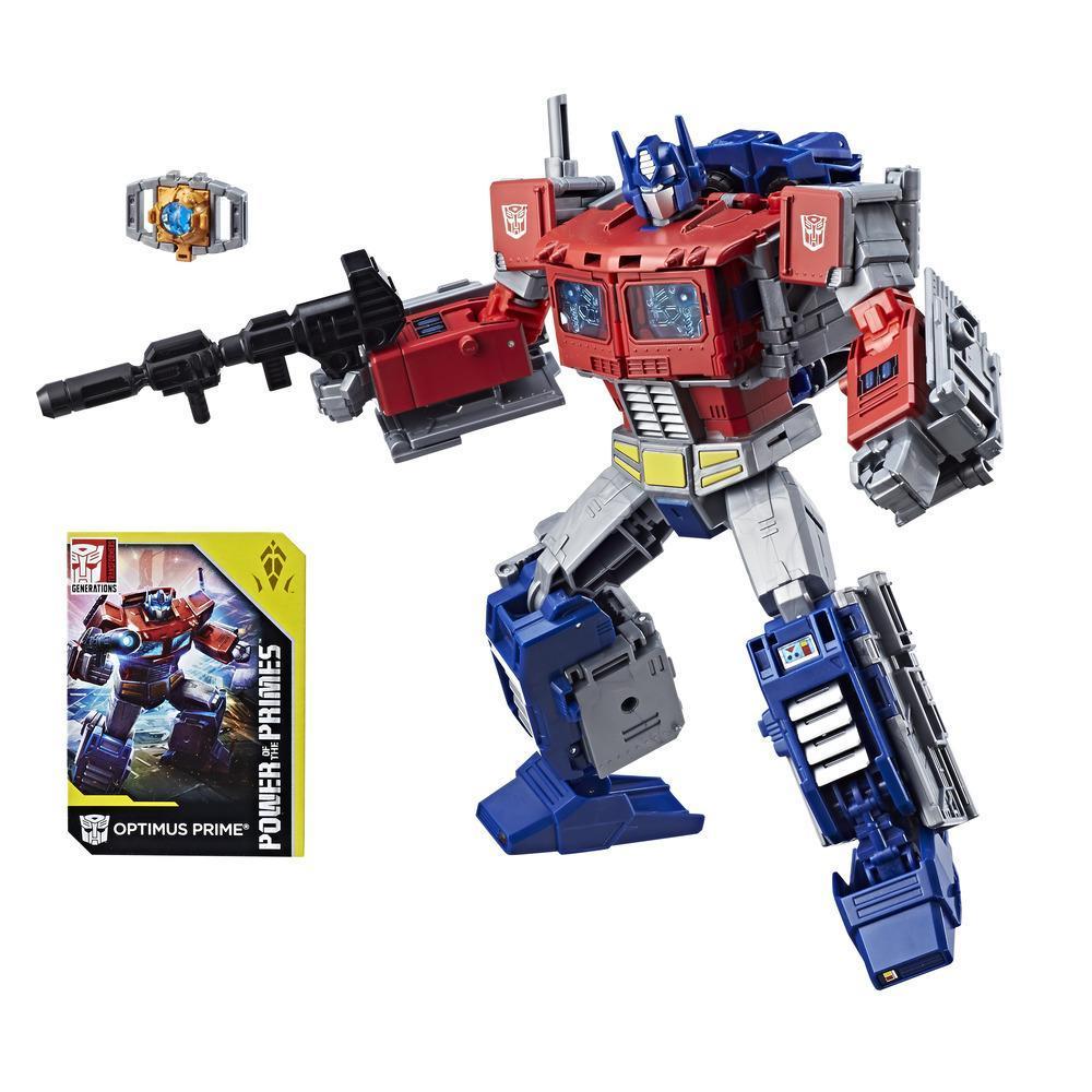 Transformers: Generations -  Poder de los Primes - Líder - Optimus Prime Evolución