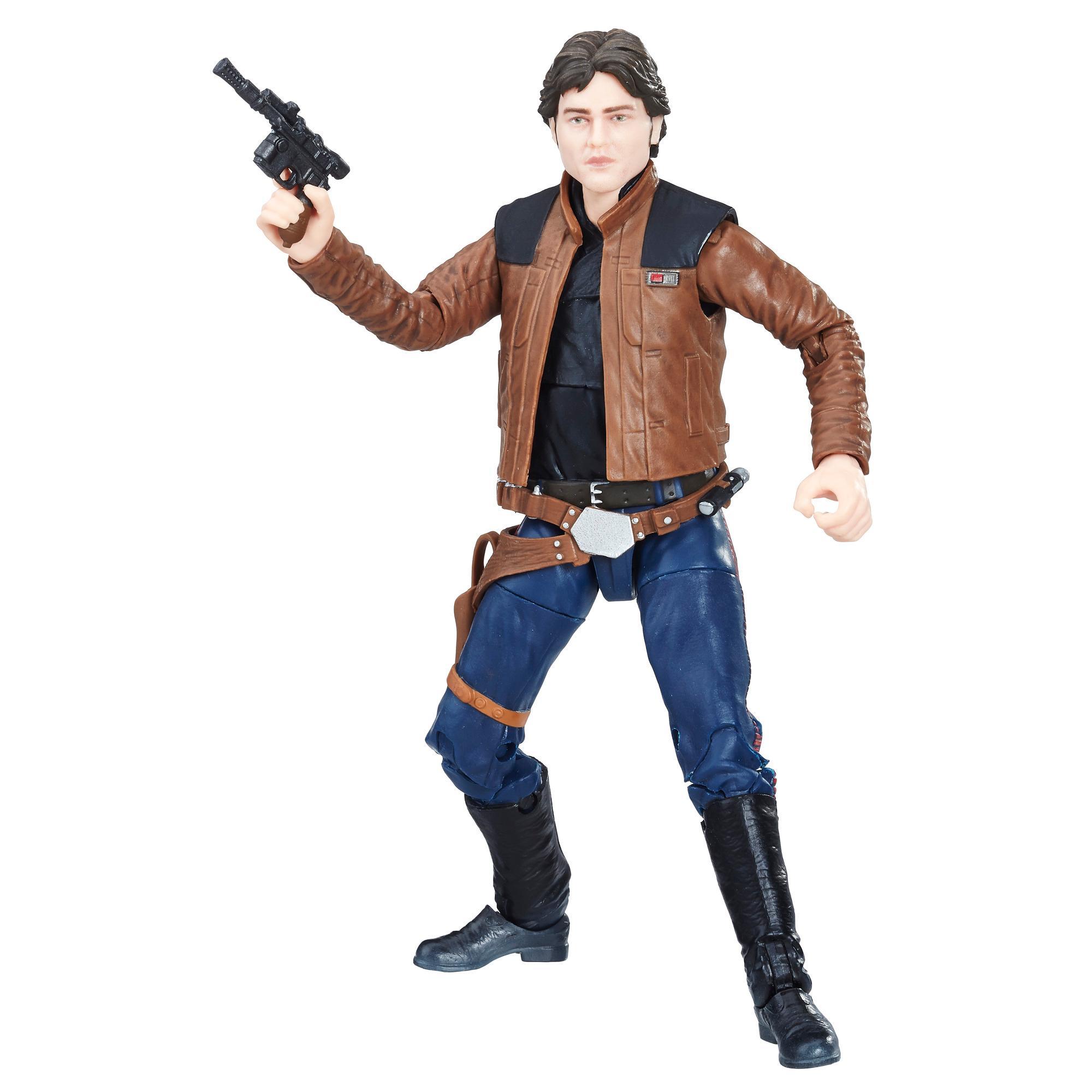 Star Wars The Black Series - Figura Han Solo de 15 cm