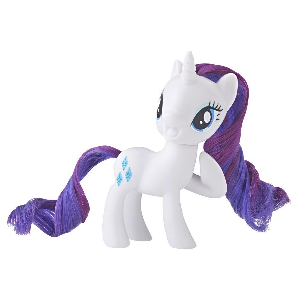 My Little Pony - Figura clásica de pony principal Rarity