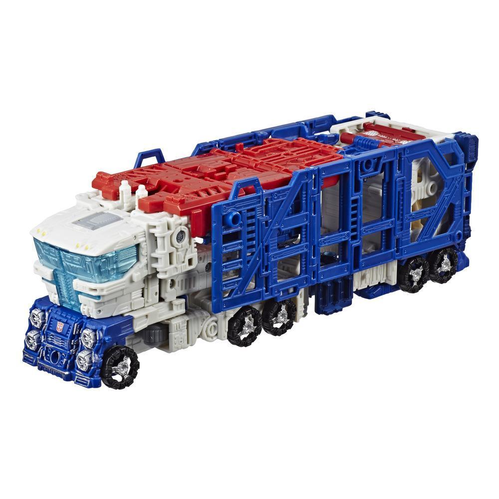 Transformers Generations War for Cybertron: Siege - Figura de acción WFC-S13 Ultra Magnus clase líder