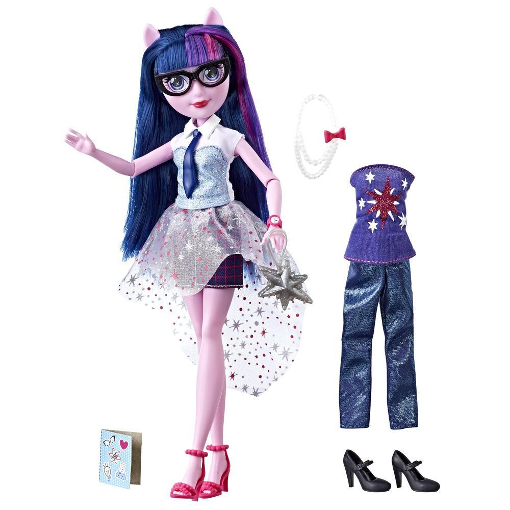 My Little Pony Equestria Girls Muchos estilos de Twilight Sparkle