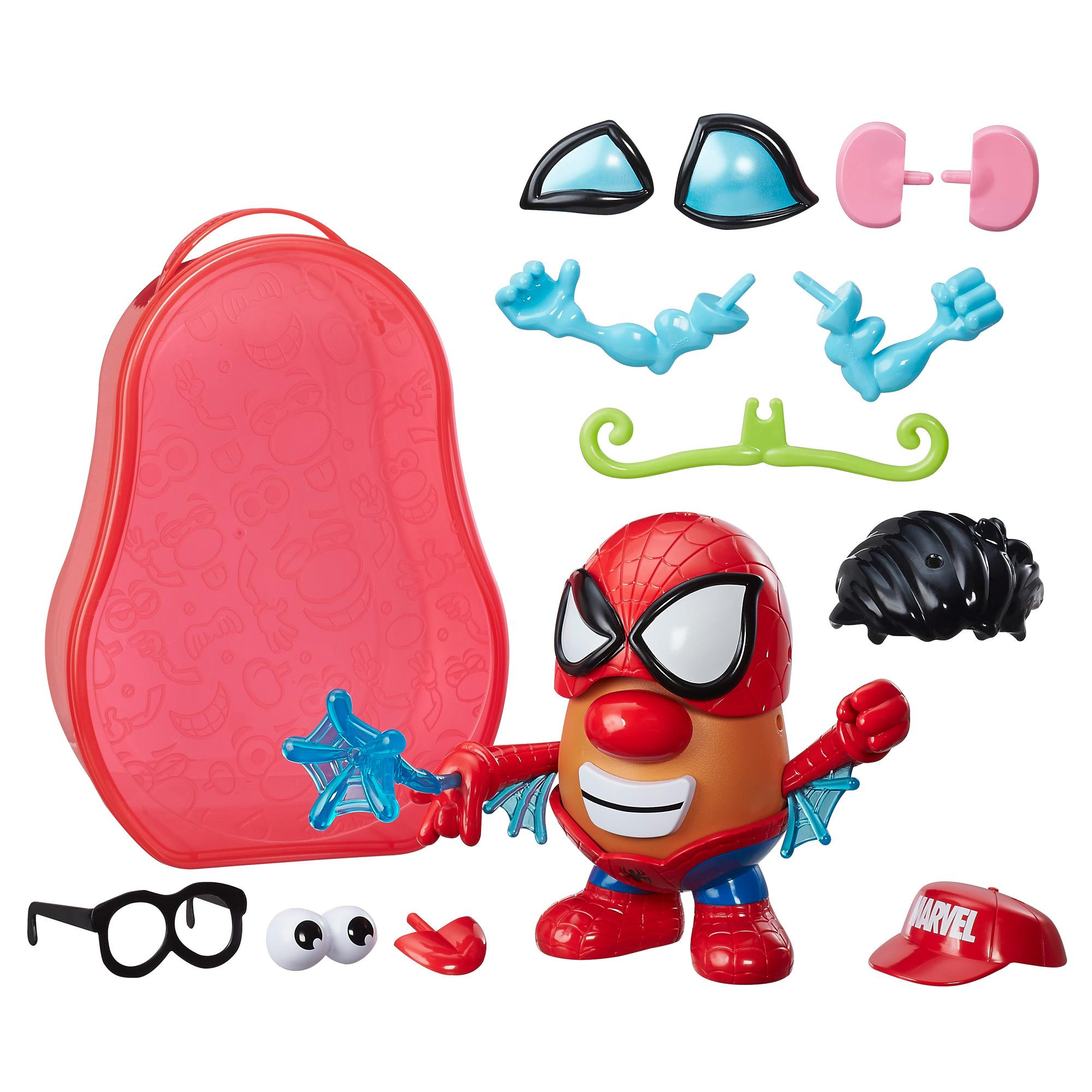 Playskool Friends Mr. Potato Head Marvel - Maleta Papa Araña