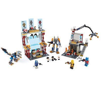 Juego de Galvatron Factory Battle de la Era de la Extinción de Transformers KRE-O