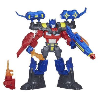Figura de Optimus Prime electrónico de Transformers Hero Mashers