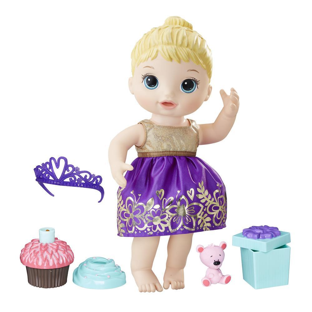 Baby Alive Cupcake Birthday Baby - Blonde Sculpted Hair