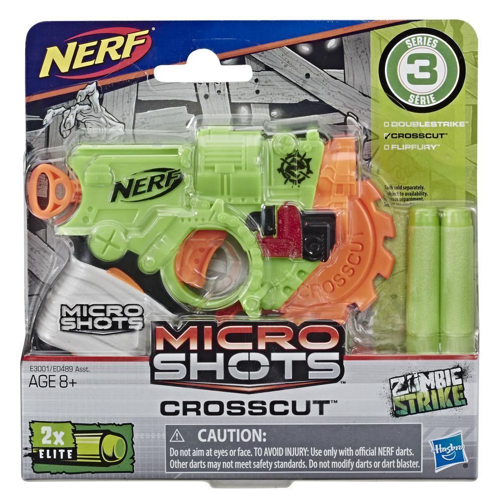Nerf MicroShots Zombie Strike Crosscut