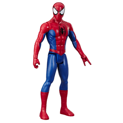 Marvel Spider-Man Titan Hero Series Spider-Man 12-Inch-Scale Super Hero Action Figure Toy, jossa mukana Titan Hero FX Port