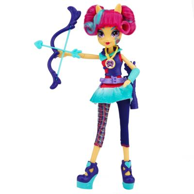 My Little Pony Equestria Girls Sour sweet Urheilullinen tyyli Jousiammunta Doll