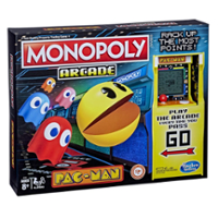 Monopoly Arcade Pac-Man -peli 8-vuotiaille ja vanhemmille