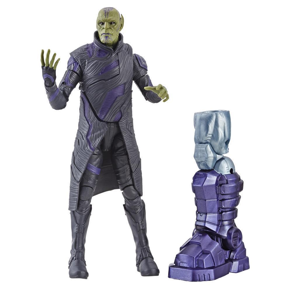 Marvel Captain Marvel 6-inch Legends Talos Skrull Figure for Collectors, Kids, and Fans