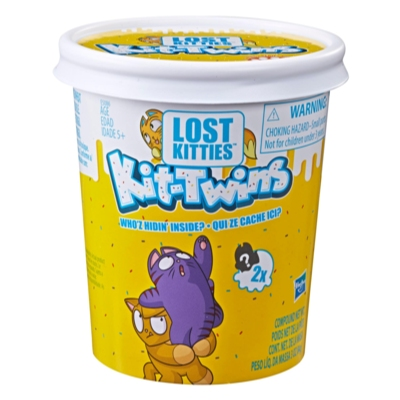 Lost Kitties Kit-Twins Toy, 36 pairs to collect by early 2019, Ages 5 and Up