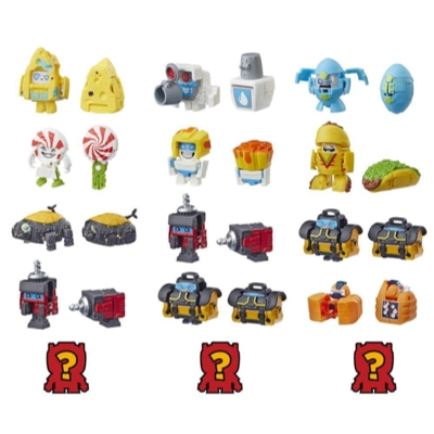 Transformers BotBots Toys Series 2 Shed Heads 5-Pack – Mystery 2-In-1 Collectible Figures! Kids Ages 5 and Up (Styles and Colors May Vary) by Hasbro Product