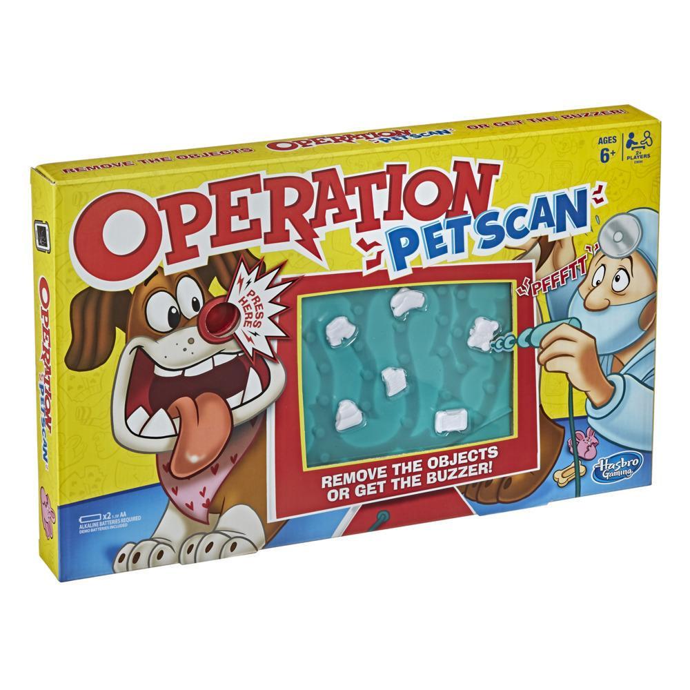 Operation Pet Scan -lautapeli 6-vuotiaille ja vanhemmille lapsille