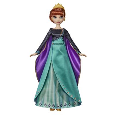 """Disney Frozen Musical Adventure Anna Singing Doll, laulaa """"Jotkin muutu ei"""" -laulun Disneyn elokuvasta Frozen 2"""