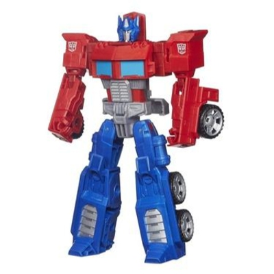Transformers Generations Cyber Battalion Series Optimus Prime Figure