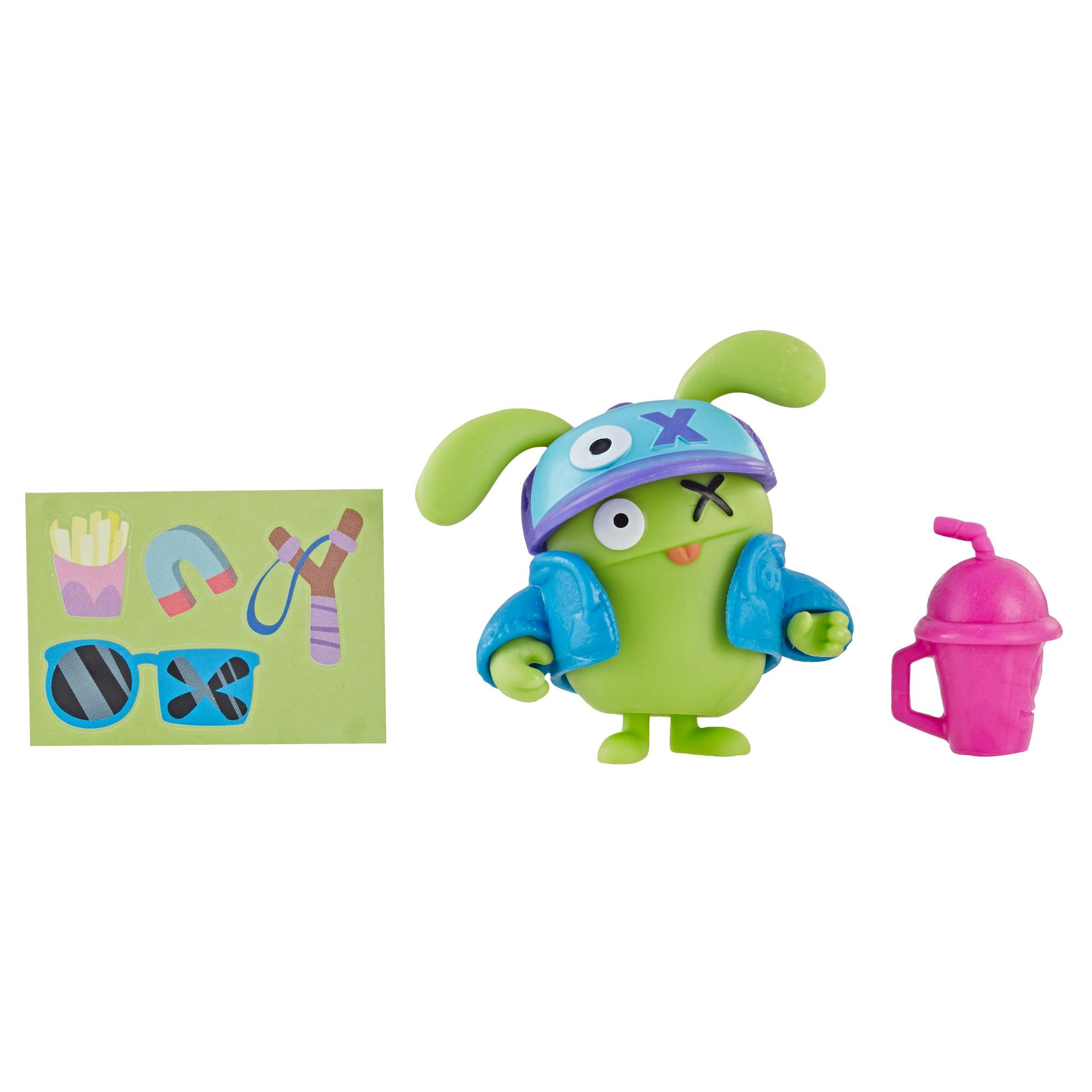 UglyDolls Surprise Disguise Cool Dude OX Toy, Figure and Accessories