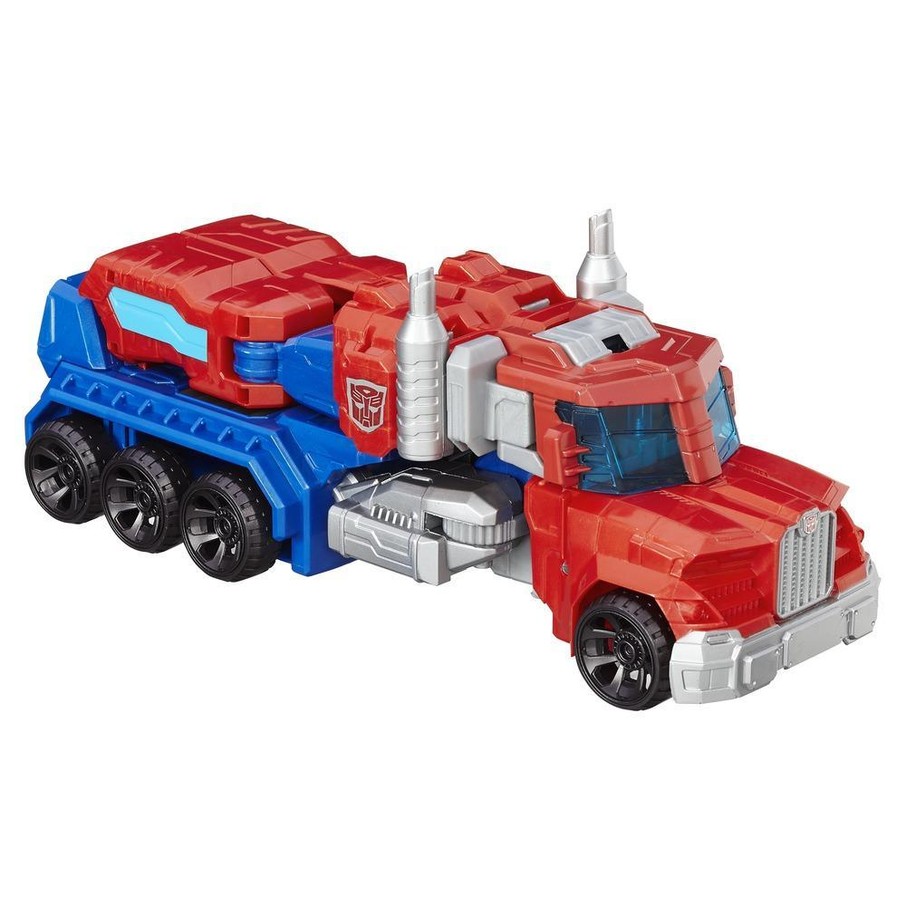 Transformers Cyber Commander Series Optimus Prime Figure