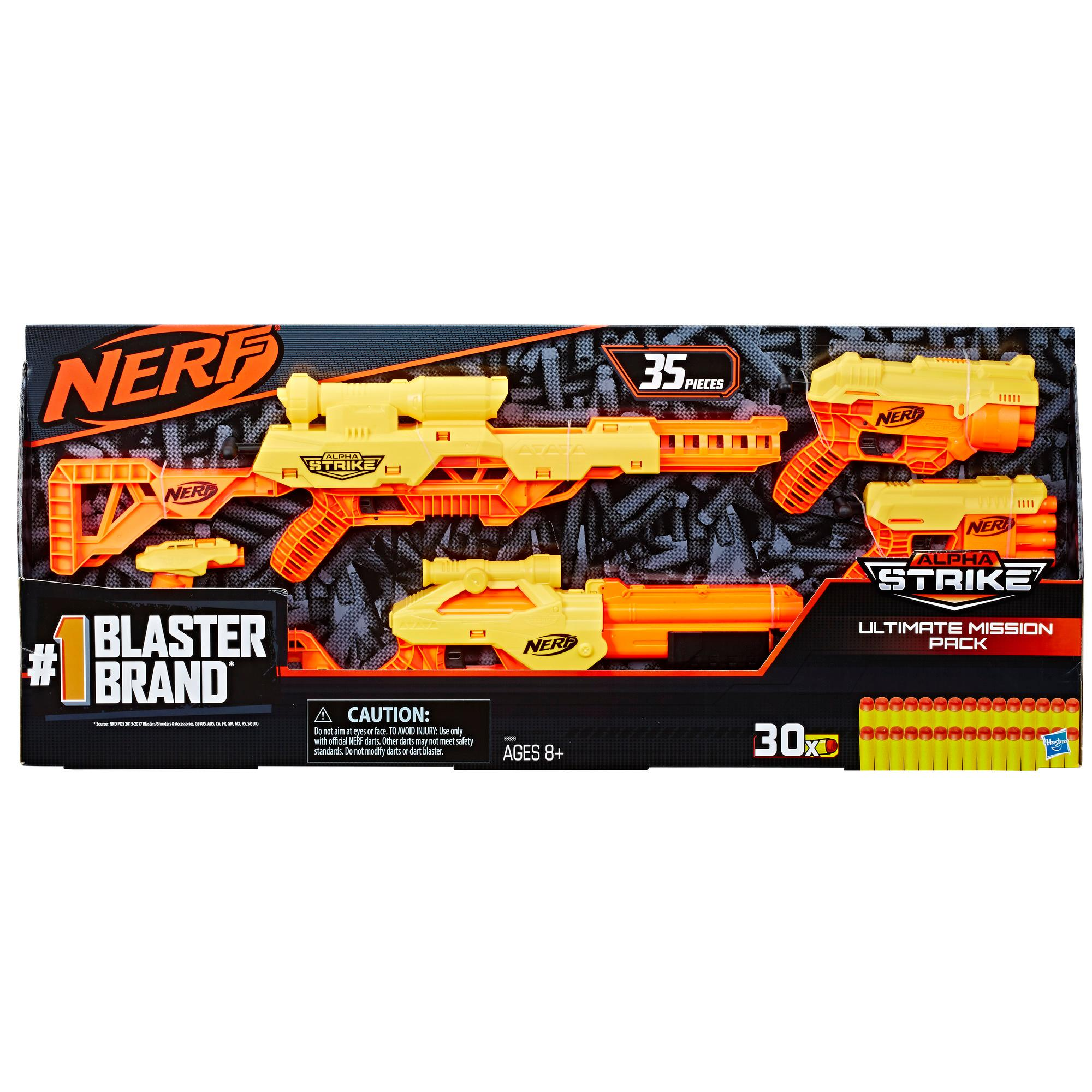 35-Piece Nerf Alpha Strike Ultimate Mission Pack