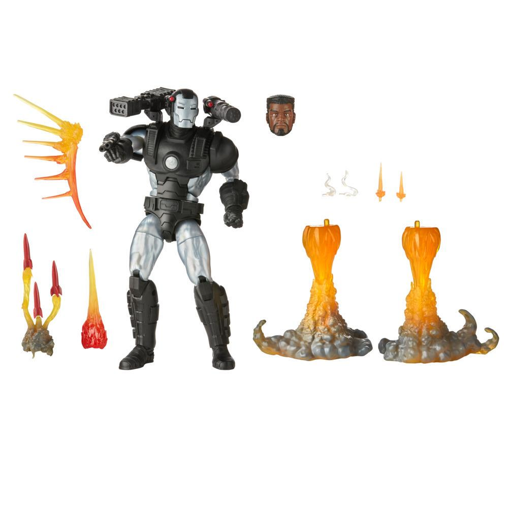 Hasbro Marvel Legends Series, figurine de collection deluxe Marvel's War Machine de 15 cm
