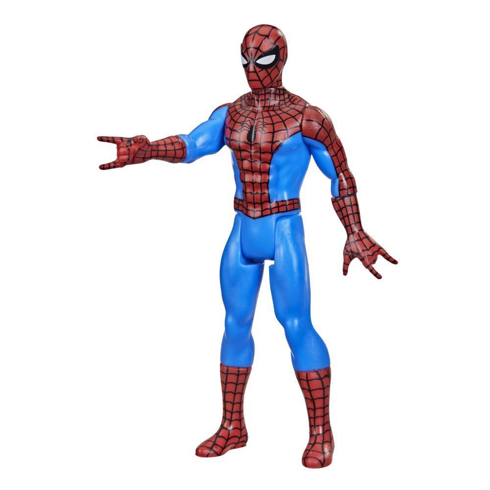 Hasbro Marvel Legends Retro - Figurine Spider-Man de 9,5 cm