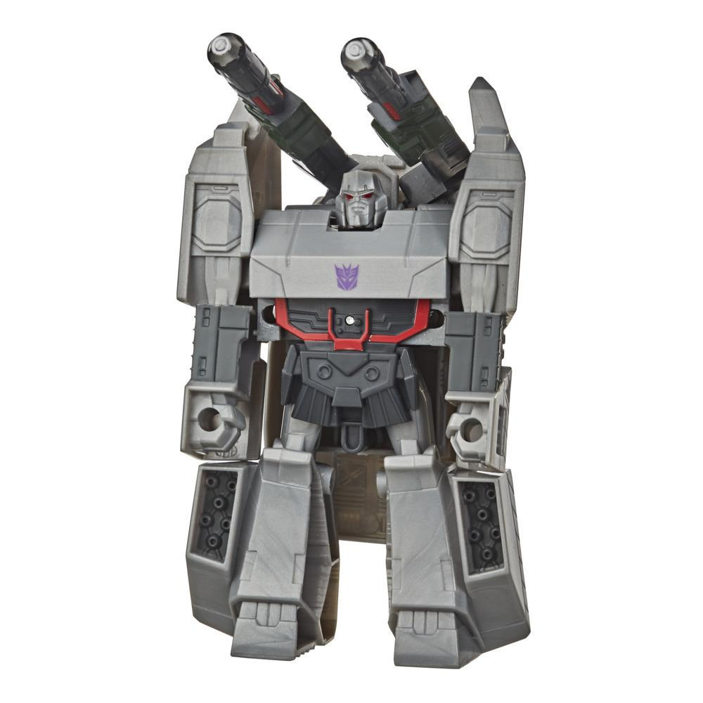 Transformers Bumblebee Cyberverse Action Attackers, figurine Megatron de 10,5 cm, conversion 1 étape, avec attaque