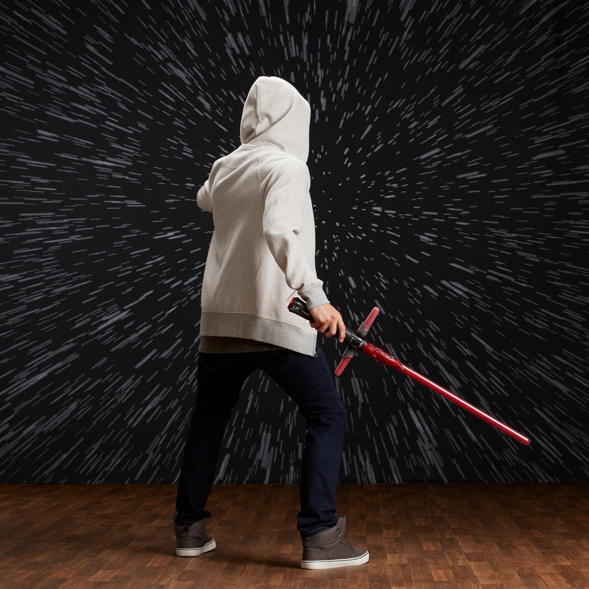 Star Wars Bladebuilders Kylo Ren Deluxe Electronic Lightsaber