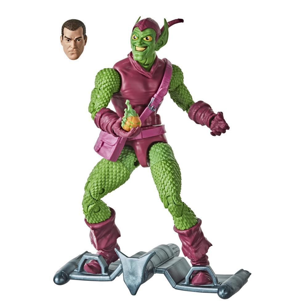 Hasbro Marvel Legends Series Spider-Man, figurine de collection rétro Green Goblin de 15 cm
