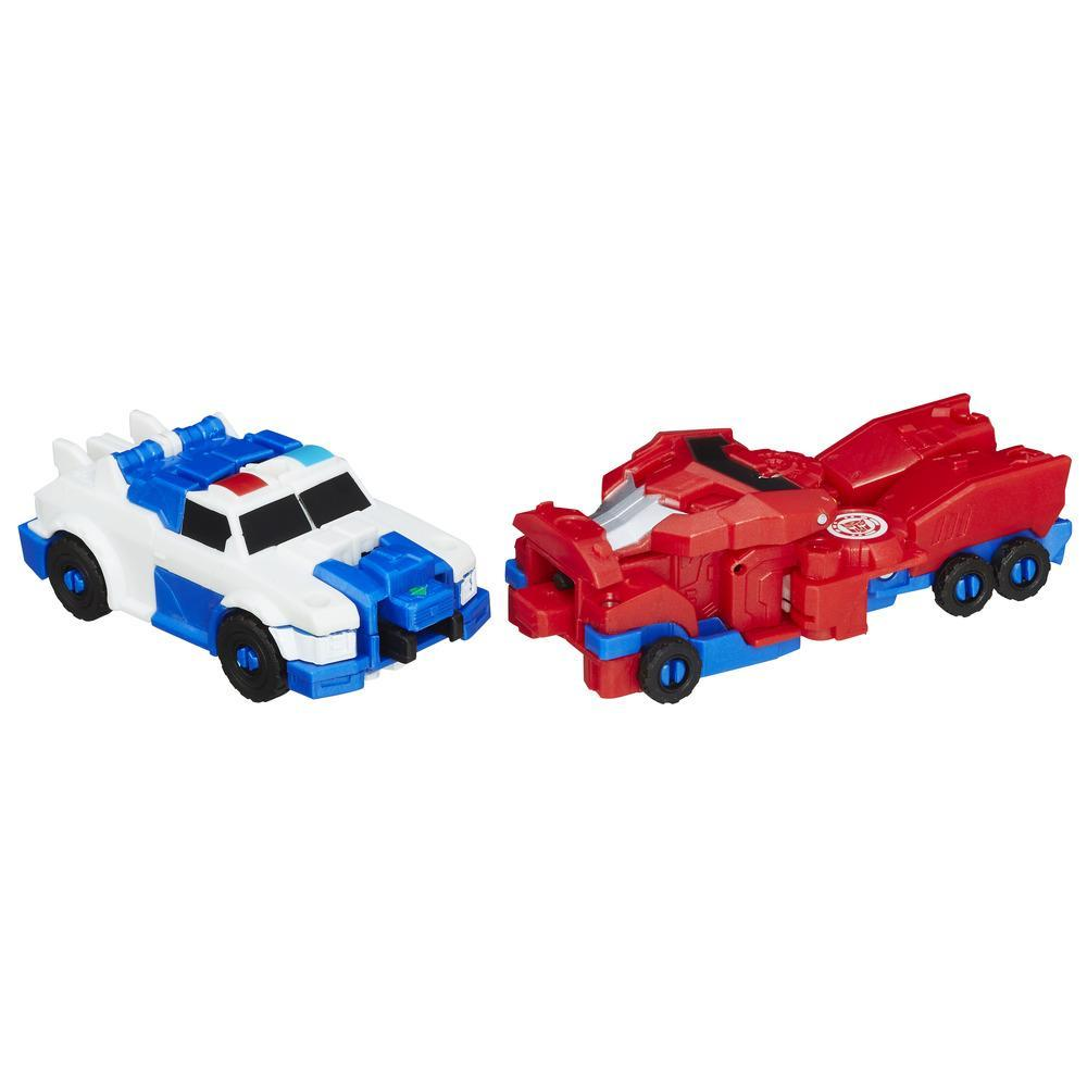 Transformers: Robots In Disguise Crash Combiner Force Bumblebee et Sideswipe