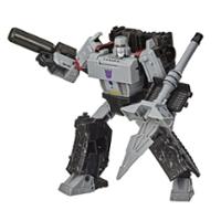 Transformers Generations War for Cybertron: Earthrise, Megatron WFC-E38 de 17,5cm, classe Voyageur