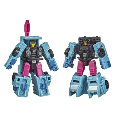 Transformers Generations War for Cybertron : Earthrise, 2 Micromasters Escouade Decepticon WFC-E40, 3,5 cm Product