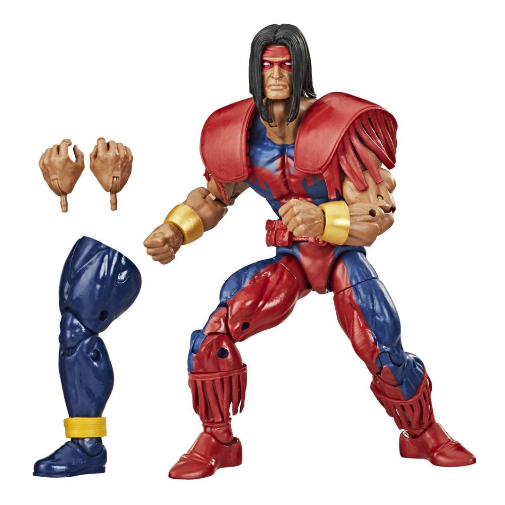 Hasbro Marvel Legends Series, figurine Marvel's Warpath de 15 cm, design premium, 2 accessoires
