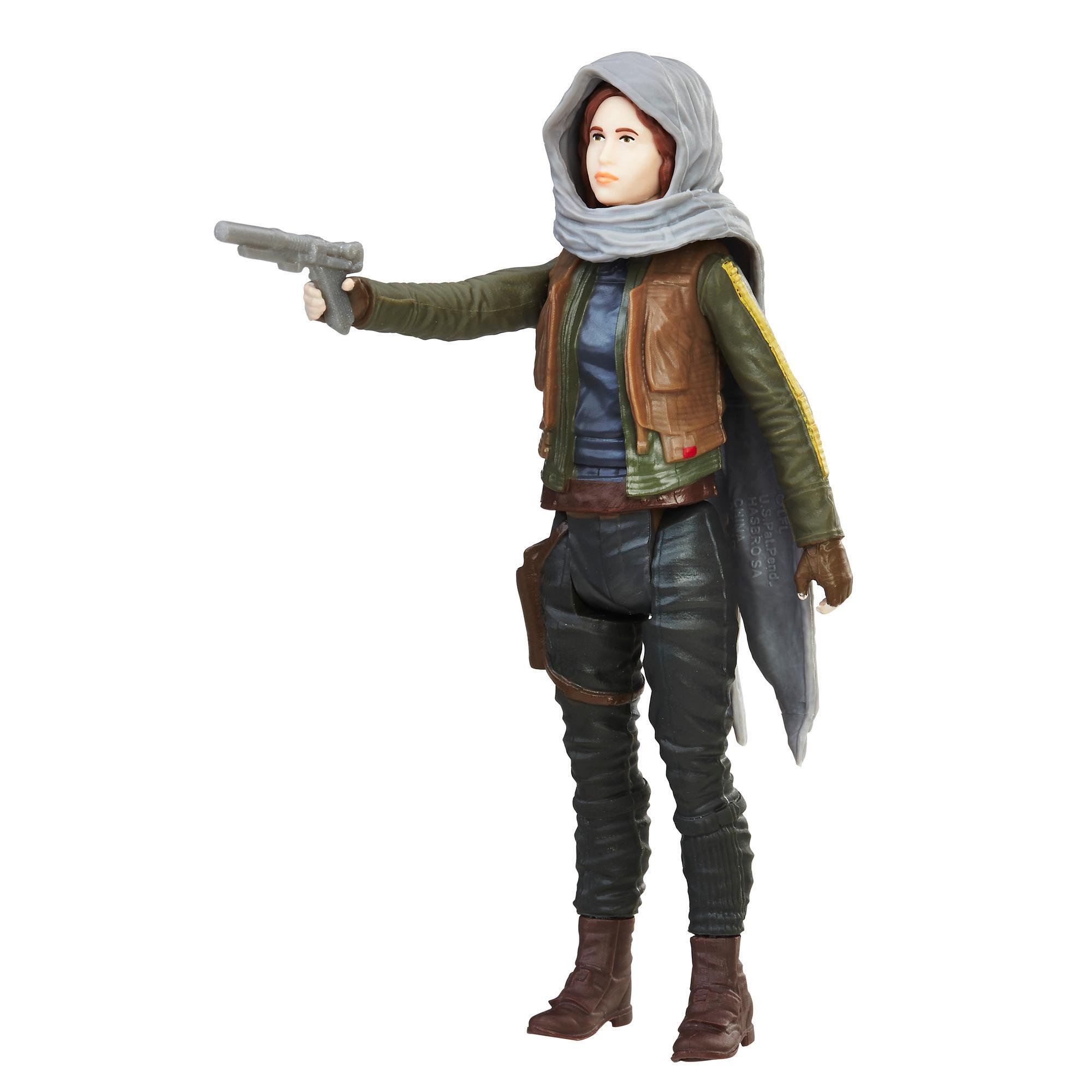 Star Wars - Figurine Jyn Erso (Jedha) avec Force Link