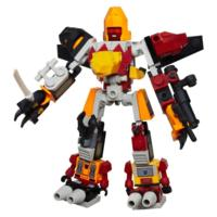 Kre-o Transformers  figurines 4 en 1