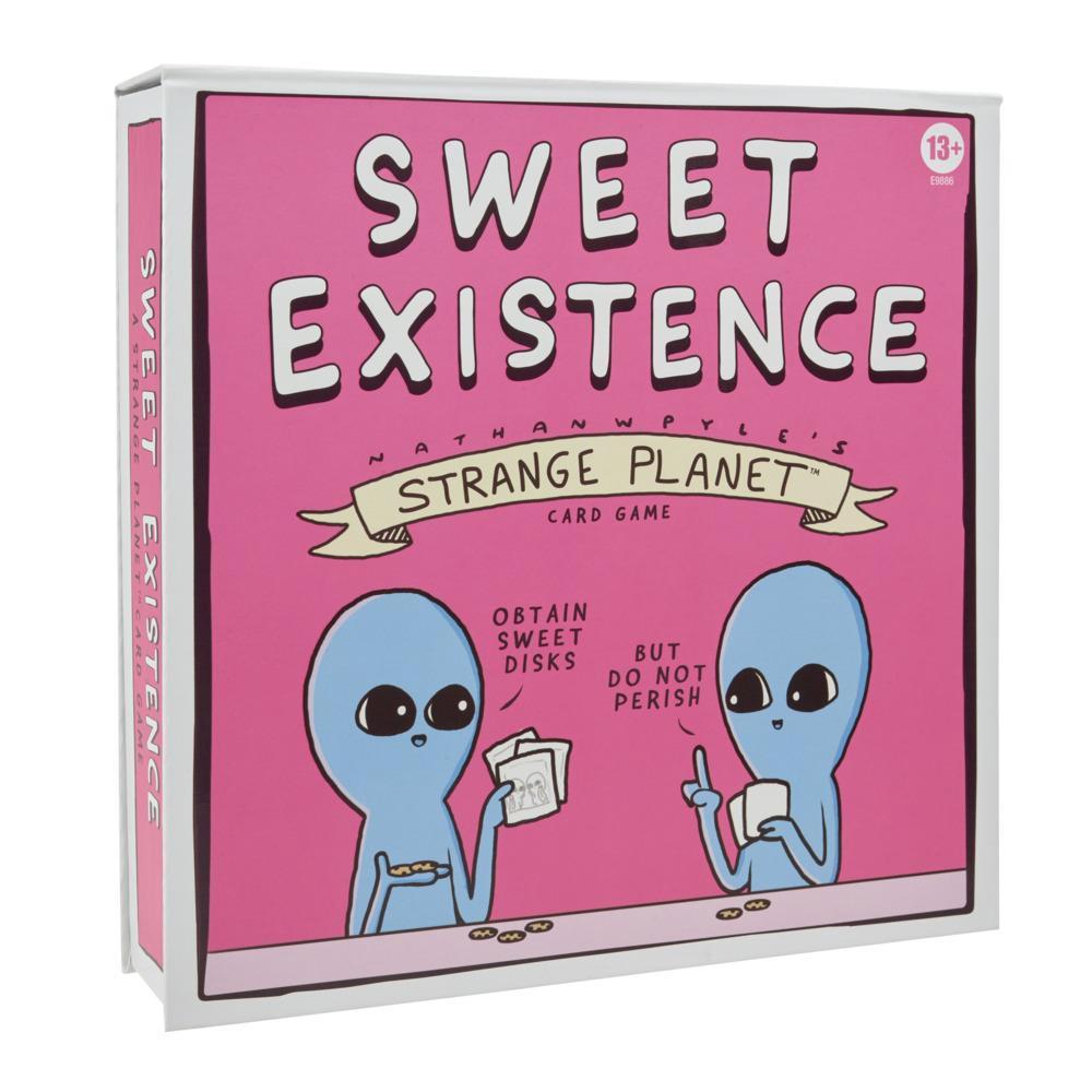 Sweet Existence, jeu de cartes Strange Planet, dès 13ans