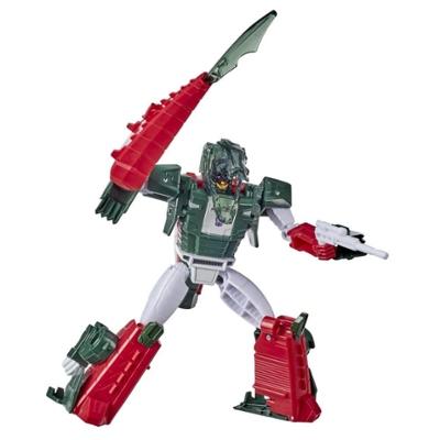 Transformers Bumblebee Cyberverse, figurine Skullcruncher classe Ultra, 17 cm, se combine à l'armure energon pour gagner en surpuissance, dès 6 ans Product