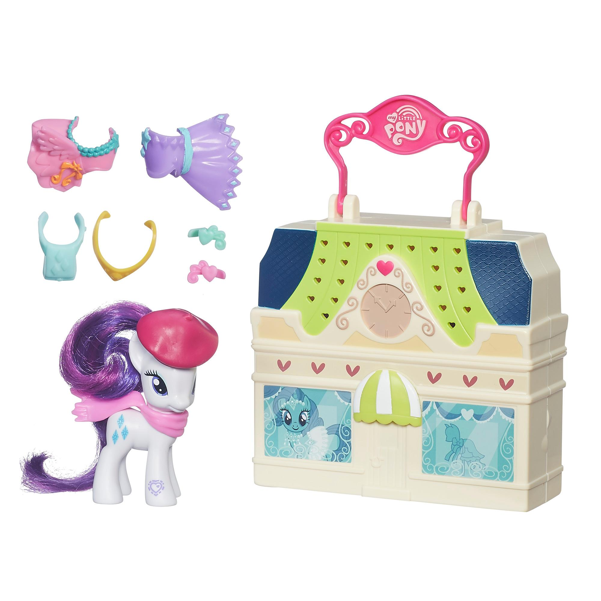 My Little Pony Malette Playset -Rarity-