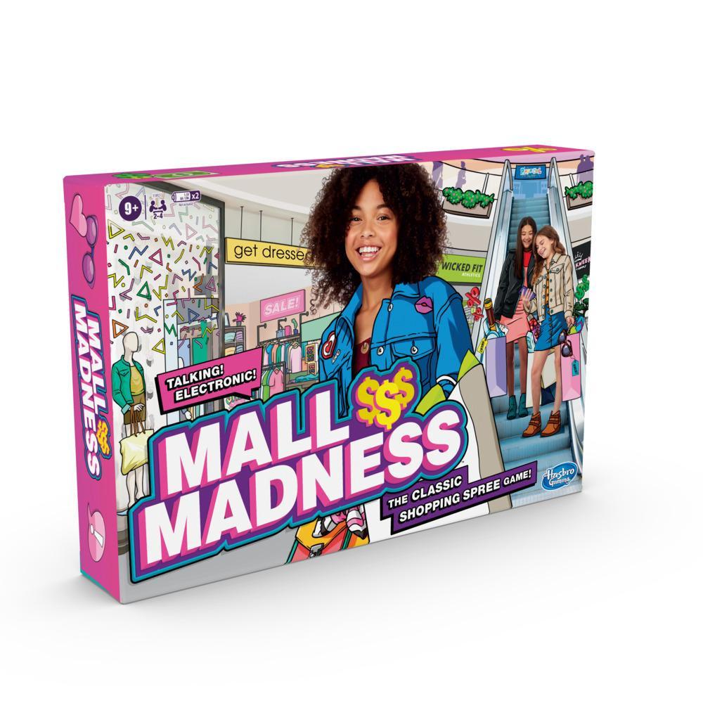 Mall Madness, jeu électronique sur la frénésie des achats, à partir de 9ans