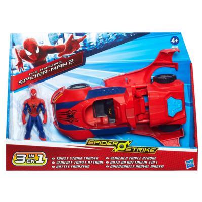 Spider-Man Véhicule de Combat 3 en 1
