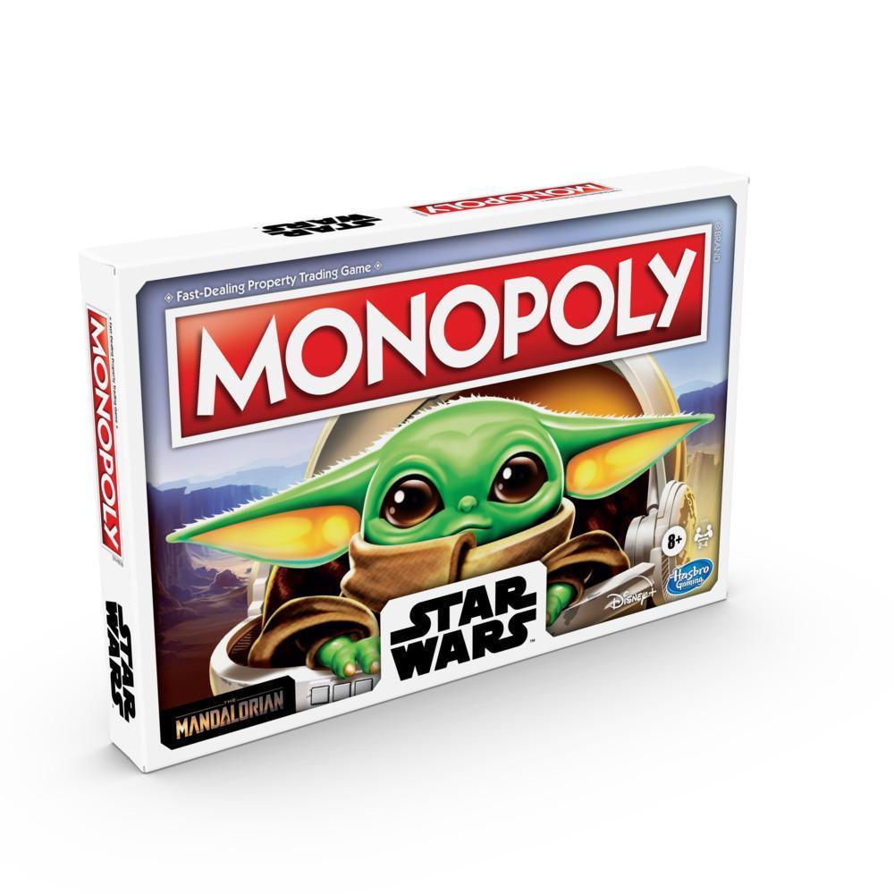 Monopoly: édition Star Wars L'Enfant, jeu de plateau pour la famille et les enfants