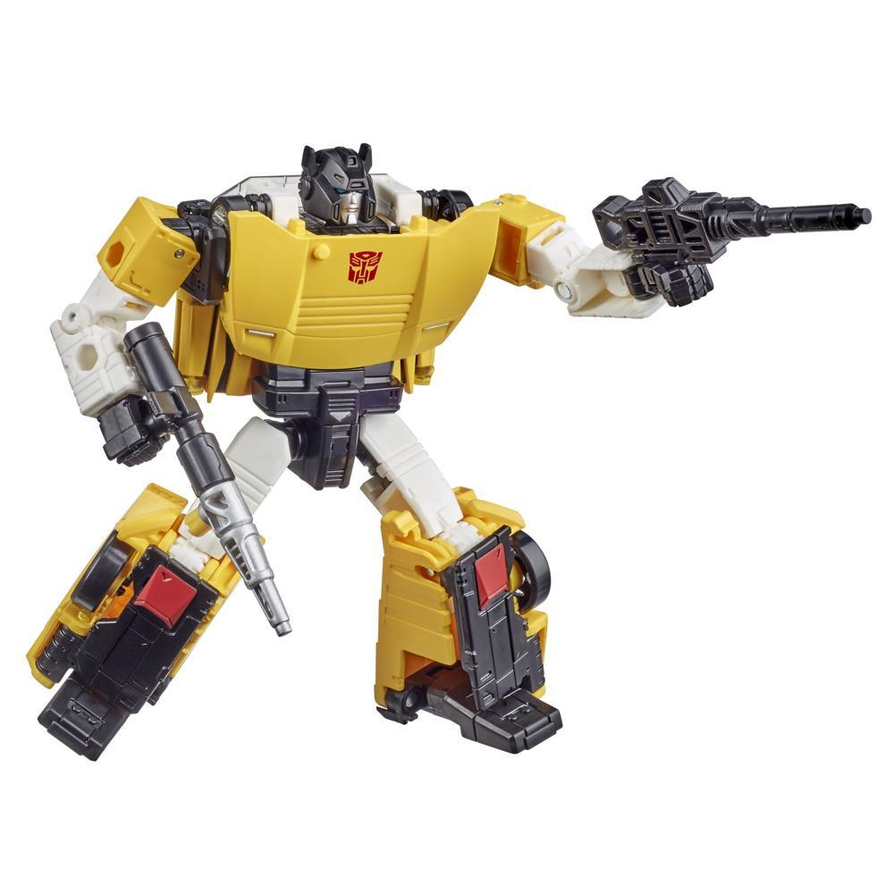 Transformers Generations Selects, WFC-GS18 Tigertrack, figurine de collection, War for Cybertron, classe Deluxe, 14 cm
