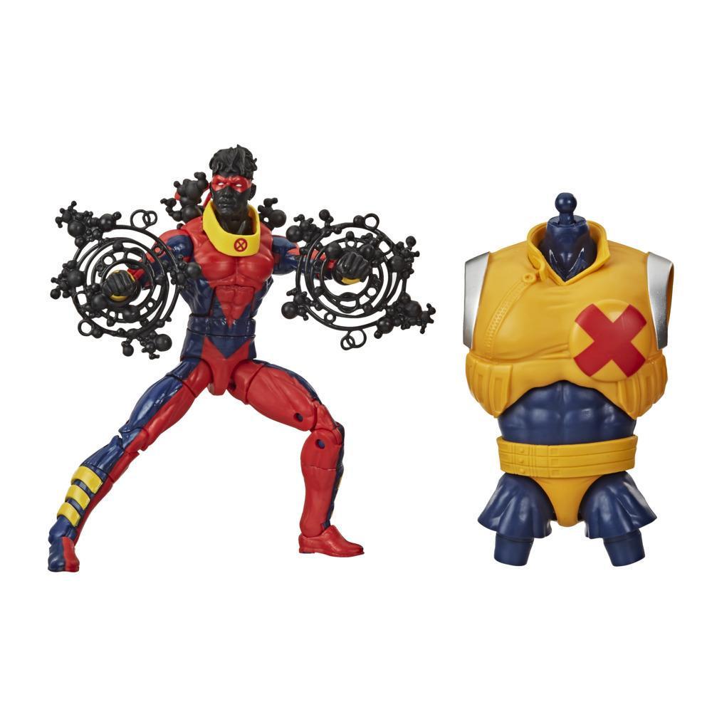 Hasbro Marvel Legends Series, figurine Marvel's Sunspot de 15 cm, design premium, 2 accessoires